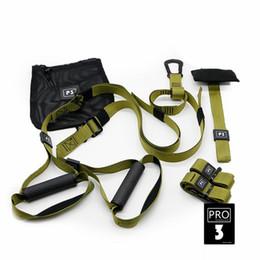 Cintura di allenamento online-Fasce di resistenza Fitness Cintura da appendere Allenamento Allenamento in palestra Sospensione Esercizio Tirare la corda Allungare le cinghie elastiche