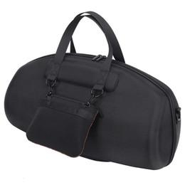 Черный ящик см онлайн-Водонепроницаемый динамик жесткий чехол для JL Бумбокс Портативный Bluetooth сумка защитная коробка (черный) Ева 48*28*17.8 cm