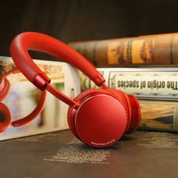 Argentina Nuevo Remax RB-520HB rojo de alto grado Auriculares Bluetooth inalámbricos Estéreo bilateral con cancelación de ruido de graves en el auricular para PC para teléfono móvil Suministro