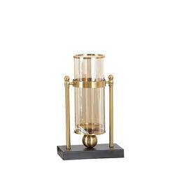 4 pezzi di vetro trasparente in oro alla moda da tavolo vaso vaso di fiori per la tavola di nozze centrotavola decorazione della casa da