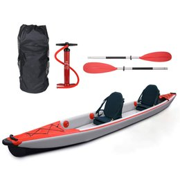 Factory Price 2 Person Kayak Inflatable Double Drop Stitch Kayak