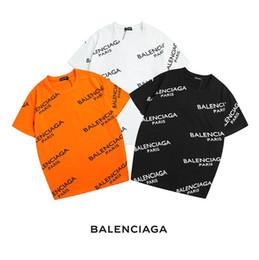 2019 été BALENCIAGA T-shirt à la mode pour les femmes de couleur pure gros code lâche col rond Top t shirt femmes ? partir de fabricateur