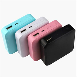2020 carregador de couro Mini Powerbank 4500 mAh Charger Power Banks Telefone Celular Para O Telefone Móvel de Couro PU Power Bank Compatível com iPhone iPad Samsung carregador de couro barato