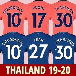 18 laranja Desconto camisa de futebol Everton 19 20 afastado camisa de futebol laranja KEAN EVERTON RICHARLISON SIGURDSSON ANDRÉ GOMES KEANE BERNARD WALCOTT CENK TOSUN