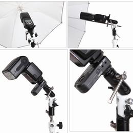 3 bölüm U şekli Tipi Döner Flaş Braketi Şemsiye Tutucu Işık Standı Ayarlanabilir UY8 cheap types swivel brackets nereden döner parantez tipleri tedarikçiler