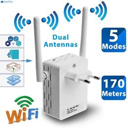 alternar aux Desconto EastVita 300Mbps Roteador Extender Sem Fio Wi-fi Extensor de Rede de Sinal r22