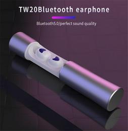 заказ наушников Скидка Заказ для TW20 TWS Bluetooth наушники 5.0 беспроводные стерео наушники мини-наушники спортивная гарнитура наушники мини-наушники TWS 5.0