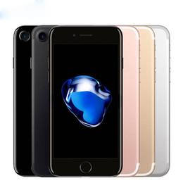 2019 téléphone intelligent déverrouillé Débloqué d'Apple iPhone iphone7 7 plus 3 Go de RAM 32/128 Go / 256 Go ROM Quad-Core IOS LTE 12.0mp caméra iPhone7 plus d'empreintes digitales Téléphone
