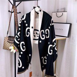 2019 outono e inverno alta qualidade cachecol de caxemira high-end clássico marca de moda lenços femininos caixa de correspondência de transporte livre de