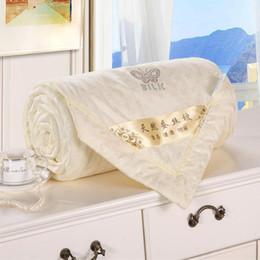 Têxtil de casa Hign qualidade bebê De Seda capa de cama crianças colcha de folha Crianças Conjuntos de Cama Consolador 150 * 100 cm cheap quality silk comforter set de Fornecedores de conjunto de edredão de seda de qualidade