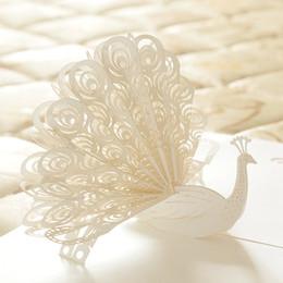 Nueva Tarjeta De Felicitación Del Pavo Real De Diseño 3d Le Agradece Tarjeta De Tarjeta De Invitación De Cumpleaños Creativo Aniversario De Boda