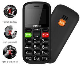 Tarjetas sim de marca online-A estrenar Cheep Teléfonos más viejos Elder Phone Good Senior Big Button Battery Loud Speaker SOS Side Button Dual Sim Card