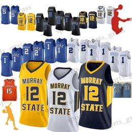 NCAA basquetbol universitario camisetas jerseys alta calidad Zion Williamson Ja Morant Use baloncesto  Cam Rojizo Barrett desde fabricantes