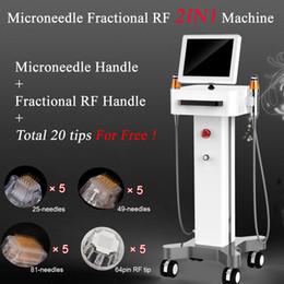 radiofrecuencia para cuerpo facial. Rebajas Dispositivo de RF Microneedle fraccional Ajuste de la piel con la cara RF Elevación del cuerpo Máquina de eliminación de arrugas thermage de radio frecuencia