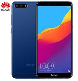 2019 cdma 32gb Huawei Honor 7A 3GB 32GB 5.7 pouces empreinte digitale empreinte digitale Snapdragon 430 Octa Core Avant 8.0MP Double caméra arrière 3000mAh promotion cdma 32gb