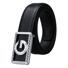Canada Ceintures de cuir de vachette de luxe en cuir véritable avec boucle ceintures pour hommes de haute qualité en peau de vache ceinture Homme BK-0006 supplier bk leather Offre