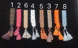 una collana dell'aeroplano di carta di direzione Sconti marchio di moda con LOGO J progettista intrecciate a mano cinturino braccialetti braccialetto di corda mano per uomo e partito delle donne amanti regalo di nozze monili di lusso