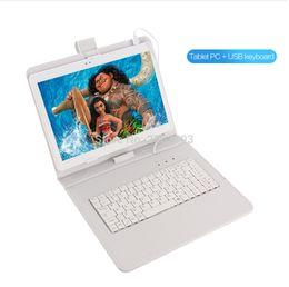 android tablet pc sim karte Rabatt Freies Verschiffen 10 Zoll androide 8.0 OS-Tablette PC Octa-Kern 4GB RAM 64GB ROM Doppel-SIM-Karten 8.0MP Tablets 10.1 Tabletten-PC
