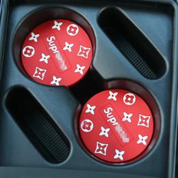 gummi-topfhalter Rabatt Auto Wasser Cup Mat Automotive Cup Slot staubdicht verhindern rutschige PVC-Matte Persönlichkeit Auto-Innendekoration Artikel