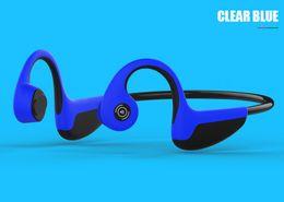 Auriculares 5.1 online-El más nuevo Bluetooth 5.1 Sports Wear Z8 Auriculares inalámbricos Auriculares de conducción ósea Deporte al aire libre Auricular con micrófono con caja PK AfterShokz Trekz