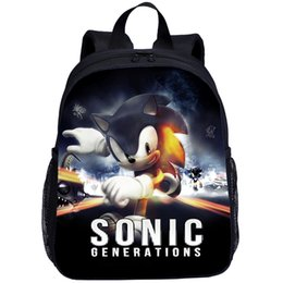 Mario /& Sonic Personalised School Bag Boy Rucksack Backpack+Pen Bag 3M Gift