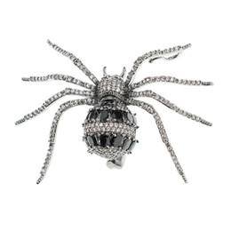 Moda Takı Broş Kristal Taşlı Altın / Siyah Örümcek Broş Broş Pin kolye Kadınlar Takı Aksesuar XR04054 nereden