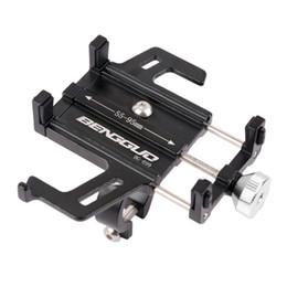 scuotere il telefono Sconti Supporto per bicicletta regolabile per bicicletta Supporto per telefono per bicicletta Supporto per bicicletta in lega di alluminio Supporto per cellula MTB anti shake