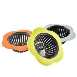 Telas de Filtro de modelagem de pétala Cozinha TDR PP Vazamentos de Flume Banheiro Multi Cores Dreno de Assoalho de Água Nova Chegada 1 4zs L1 de