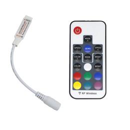 rf modulo di controllo remoto Sconti 17 tasti DC5-24V mini RF wireless led RGB telecomando con 4 pin femmina per controllare led strip SMD 5050 illuminazione e modulo