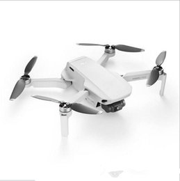 Drones gps online-DJI Mavic Mini fotografía aérea 30 Min volar plegable portátil ultraligero Hover constante GPS Mini aviones no tripulados