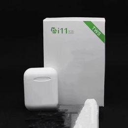 Nouveau i11 Bluetooth 5.0 vs i10 paire automatique double casque appel Charge magnétique pour iphone xs samsung s8 s9 universel Appuyez sur le bouton ? partir de fabricateur