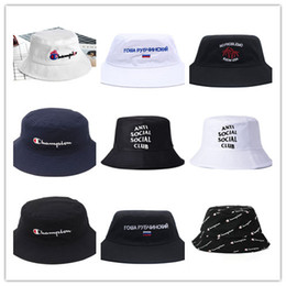 10e2667cd8783 beach summer hats for woman Coupons - New Hot Champion Bucket Hat For Men  Women Foldable