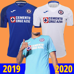 2019 maglie di cruz 19 20 Cruz Azul maglia da calcio messico liga 2019 2020 maglia da calcio camiseta de calcio camisa de futebol maglia piede maglie di cruz economici