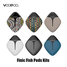 Baterías de pescado online-Auténtico VOOPOO Finic Fish Pod Starter System 350mAh Batería avanzada GENE Pod Chip para cartuchos de 1.7ml Pods 100% original