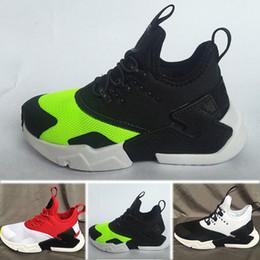huge discount e09ee 00b5d Nike Air Huarache New Kid Air Huarache Sneakers Chaussures Pour Garçons  Grils Enfants formateurs Hurache Jeunes Enfants Huaraches Sports Chaussures  De ...