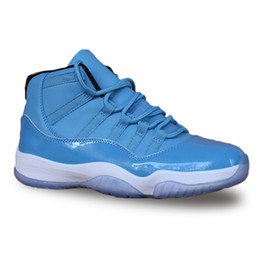 Argentina 2018 Nuevo 11 11s zapatos de baloncesto azul Tinker Alternativo Olímpico Liebres Burdeos Cigar moda de lujo para hombre mujer diseñador sandalias zapatos HY cheap women new blue sandals shoes Suministro