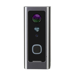 V1 HD 1080 P Inteligente Campainha De Vídeo Wi-fi Câmera Visual Intercomunicação Chime Visão Noturna Campainha Da Porta de Segurança Em Casa Sem Fio Proteger a bateria +4800 mAh cheap camera v1 de Fornecedores de câmera v1