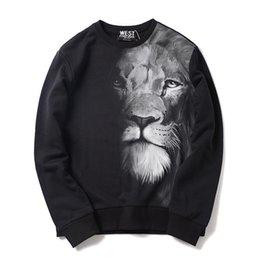 Neue Männer Luxus klassisch Lions Hoodies Hoody mit Kapuze Sweatshirts Samt Baumwolle Drake Dicke Fleece Straße Hip Hop M29