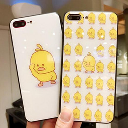 capas de telefone de pato Desconto Escudo do telefone móvel pequeno pato amarelo telefone móvel personalidade shell alta qualidade do telefone móvel case para ipnone xs xr xr