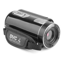 Dvd 18 онлайн-Горячая портативный 18-кратный зум 24-мегапиксельная камера ночного видения Full HD 1920 x 1080 3.0 дюймовый ЖК-экран 18-кратный зум цифровой видеокамеры видеокамеры