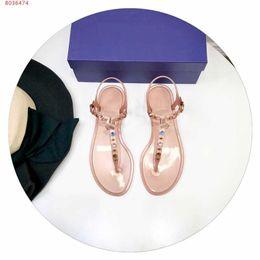 bracelet en caoutchouc Promotion Sandales en caoutchouc pour femmes, chaussures de marque pour femmes