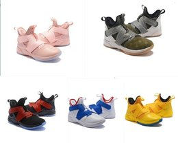 original basketball shoes for sale Coupons - Soldier Lebron 12 Mens Basketball Shoes For Sale Lebrons Xii 10 Flowers Mvp Bhm Oreo Boys Kids Generation Sneakers Boots With Original Box
