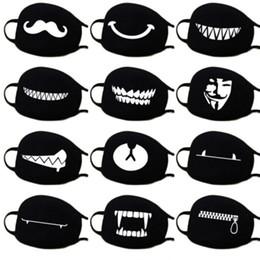 belas meias máscaras para mulheres Desconto Início dos desenhos animados Adorável Algodão Máscaras boca Mantenha Acessórios quentes máscara preta boca padronizada branco NOVO