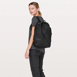 laptops coloridos Desconto 2019 LU e LU e limão Fashion Lady Esporte Bag Yoga BackPack Ladies Yoga