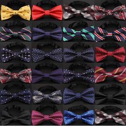 2019 empate nudos arco hombres negro Corbata de lazo de navidad de los hombres de moda nudo negro de la moda de la boda de negocios corbata de lazo de los hombres corbata formal para accesorios rebajas empate nudos arco hombres negro