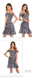Whoelsale-Europa e nos Estados Unidos fresco floral chiffon vestido de verão feminino sling strapless ruffled saia de praia Cover-Ups S, M, L, XL de Fornecedores de vestido de crochet branco longo