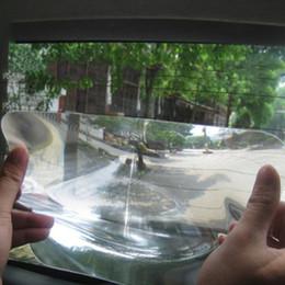 Ángulos de plástico online-Nuevo gran angular Lente Fresnel Etiqueta para revertir el estacionamiento del automóvil Útil Ampliar vista Lente ángulo Fresenl