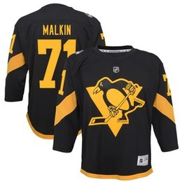 ad3b0ad96 2019 Cheap Hockey Jerseys Pittsburgh Penguins Olli Maatta Custom USA Ice  Hockey Jersey Blank Store Youth Kids Winter Classic DHL womens 4xl