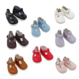 vestidos de barbie Desconto 1 par de moda mini sapatos de brinquedo para bonecas exo fit 14.5 polegada baby dolls como ajuste 1/6 bjd ragdoll acessórios 5 * 2.8 cm