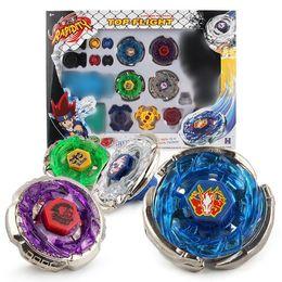 2019 brinquedos de mestres beyblade Beyblade Metal Fusion Masters Luta Lançador Raro Toy Set 4D brinquedos de mestres beyblade barato